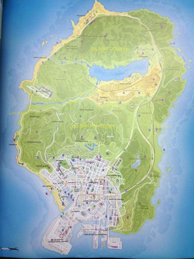Harta GTA V