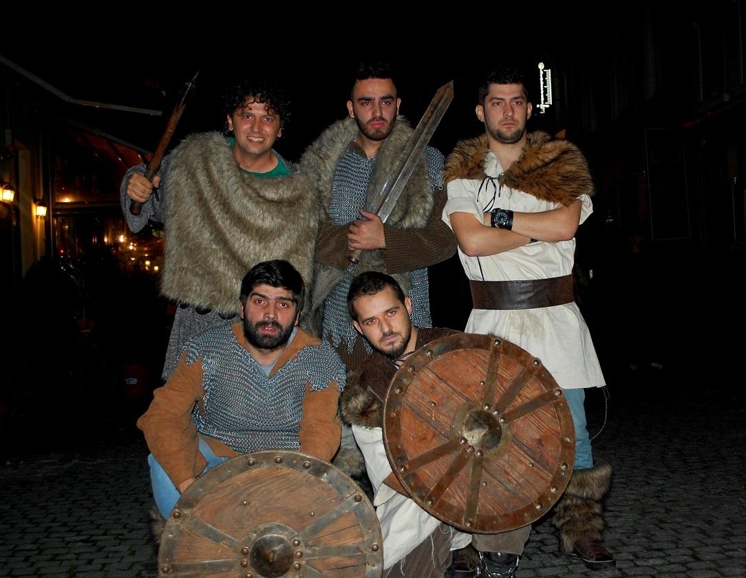 vikingii in centru